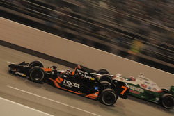 Danica Patrick, Andretti Green Racing passes Tony Kanaan, Andretti Green Racing