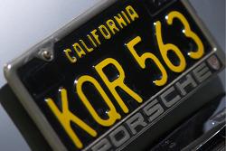 1956 Porsche 356A 1600 S Coupe_: the 10,000th unit has a California license plate
