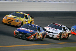 Kyle Busch, Joey Logano and Kerry Earnhardt