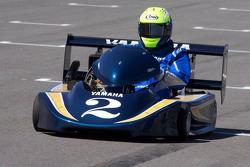 Go-kart promotional event: Kenny Roberts