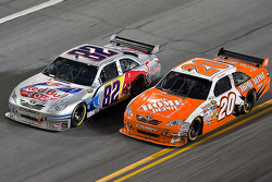 Scott Speed, Red Bull Racing Team Toyota, Joey Logano, Joe Gibbs Racing Toyota