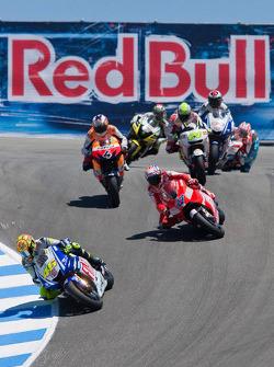 Valentino Rossi, Fiat Yamaha Team, Casey Stoner, Ducati Marlboro Team