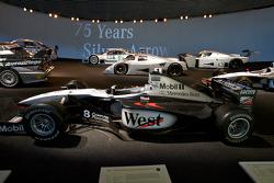 Silver arrows: 1998 McLaren-Mercedes MP4-13 Formula One racing car