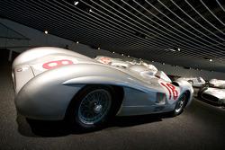 Silver arrows: 1955 Mercedes-Benz W 196 R 2.5-liter streamlined Formula One racing car