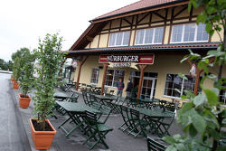 Nurburger restaurant, New development and facilities around the Nurburgring