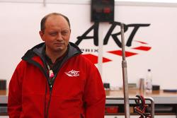 Frederic Vasseur, Art Director del equipo