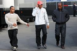 Nicholas Hamilton, Brother of Lewis Hamilton, McLaren Mercedes, Lewis Hamilton, McLaren Mercedes, Anthony Hamilton, Father of Lewis Hamilton