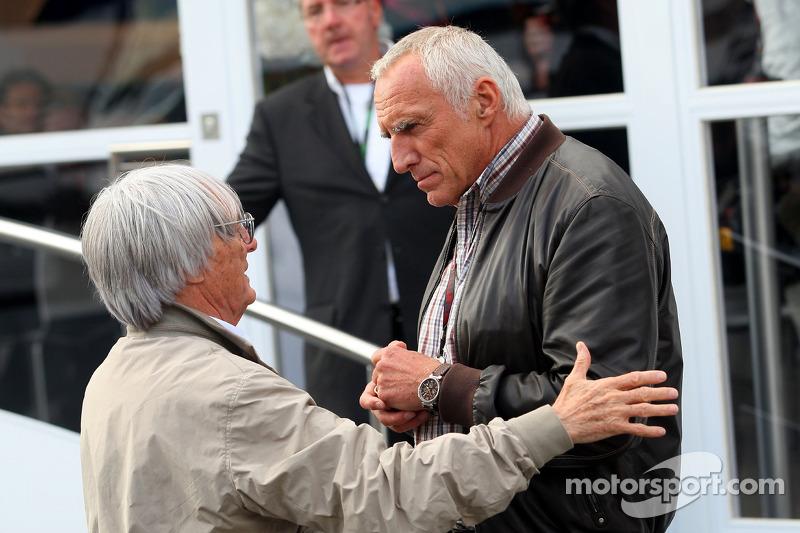 Bernie Ecclestone, Dietrich Mateschitz, eigenaar Red Bull