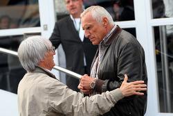 Bernie Ecclestone, Dietrich Mateschitz, Owner of Red Bull