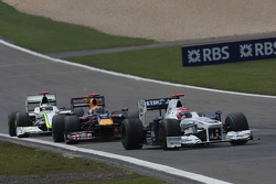 Robert Kubica, BMW Sauber F1 Team, Mark Webber, Red Bull Racing, Jenson Button, Brawn GP