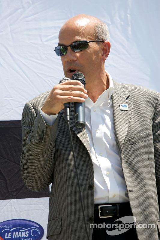 Le président de ALMS Scott Atherton