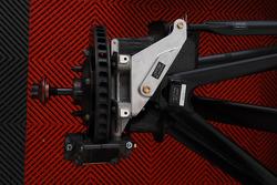 Formula Two wheel, brake and suspension detail