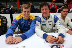 Henry Surtees and Jolyon Palmer