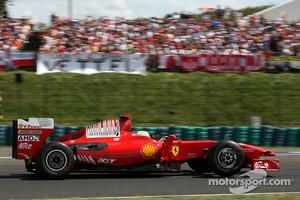 Felipe Massa, Scuderia Ferrari prior to the crash at the 2009 Hungarian GP
