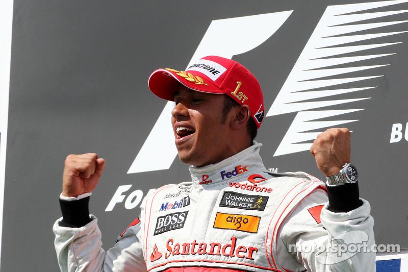 Lewis Hamilton, ganador del GP de Hungría 2009