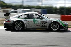 #59 Trackspeed Porsche 911 GT3 RS: David Ashburn, Tim Sugden, Stéphane Ortelli, Jorg Bergmeister