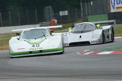 Don Miles, Jaguar XJR,Rob Sherrard, Mercedes