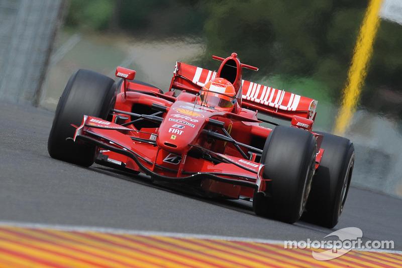 2009: Testing with Ferrari