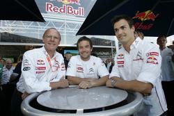 Olivier Quesnel, Sébastien Loeb and Daniel Sordo