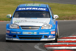 Jason Plato with a puncture