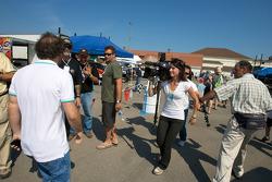 Media attention for Jacques Villeneuve