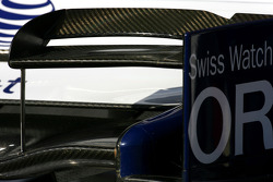 Williams F1 Team wing detail