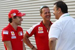Luca Badoer, Scuderia Ferrari, Michael Schumacher, Test Driver, Scuderia Ferrari, Joan Villadelprat Epsilom Euskadi