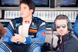 Alvaro Parente with Tiago Monteiro, Ocean Racing Technology Team Principal