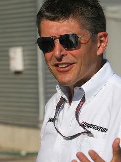 Nick Fry, Brawn GP, Chief Executive Officer