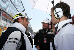 Jenson Button, BrawnGP, Ross Brawn, Brawn GP, Team Principal