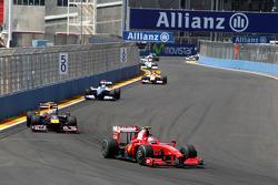 Kimi Raikkonen, Scuderia Ferrari, Sebastian Vettel, Red Bull Racing