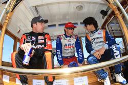 Robert Doornbos, HVM Racing, Ryan Hunter-Reay, A.J. Foyt Enterprises, Mario Moraes, KV Racing Technology