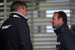 Ross Brawn, Brawn GP, Director del equipo, Rubens Barrichello, BrawnGP