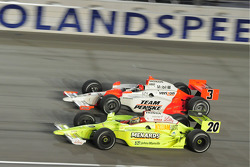 Ed Carpenter, Vision Racing and Helio Castroneves, Team Penske