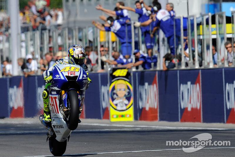 2009: Valentino Rossi (Yamaha YZR-M1)