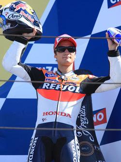 Podium: third place Dani Pedrosa, Repsol Honda Team
