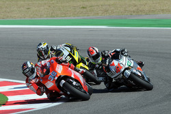 Мика Каллио, Ducati Marlboro Team, и Габор Талмаши, Scot Racing Team MotoGP