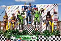 Brett McCormick a remporté les courses de Pro Sport Bike et Superbike mais le championnat revient à Jordan Szoke pour les 2 catégories