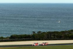 #2 Toll Holden Racing Team: Garth Tander, Will Davison, #888 Team Vodafone: Craig Lowndes, Jamie Whincup