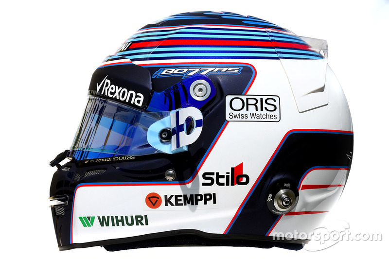 Helm von Valtteri Bottas, Williams