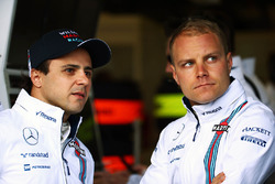 Felipe Massa, Williams e Valtteri Bottas, Williams