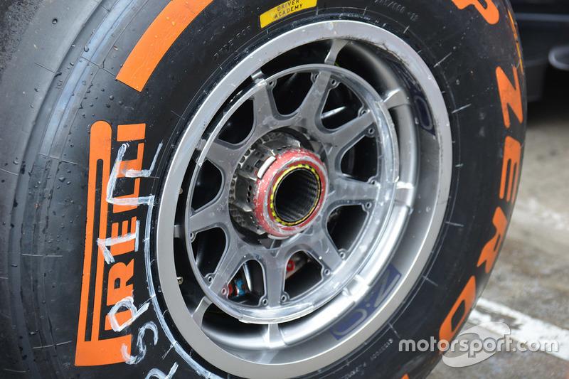 Detalle neumático Pirelli