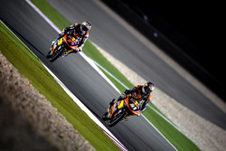 Brad Binder, Red Bull KTM Ajo, KTM en Bo Bendsneyder, Red Bull KTM Ajo, KTM
