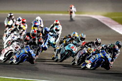 El inicio de la carrera, Jorge Navarro, Estrella Galicia 0,0, Honda