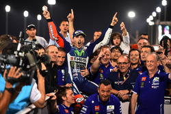 El ganador de la carrera, Jorge Lorenzo, Movistar Yamaha MotoGP