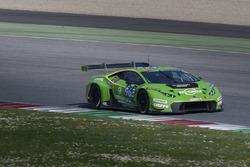 #963 GRT Grasser Racing Team, Lamborghini Huracan GT3: Rolf Ineichen, Marc Ineichen, Adrian Amstutz, Christian Engelhart