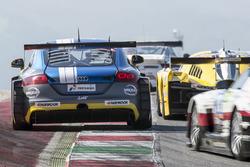 #206 LMS Engineering. Audi TTRS2: Peter Terting, Stefan Wieninger, Constantin Kletzer