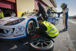Boxenstopp, #284 Nova Race, Ginetta G55 GT4: Luca Rangoni, Luca Magnoni, Roberto Gentili