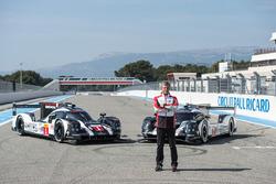 Fritz Enzinger, jefe del equipo de Porsche LMP1 con el híbrido de Porsche de 2016 919
