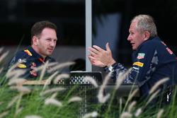 Red-Bull-Teamchef Christian Horner und Red-Bull-Motorsportberater Helmut Marko